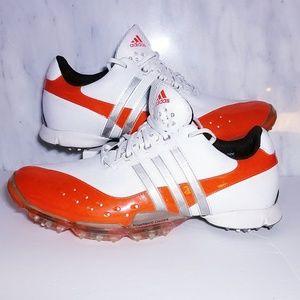 Adidas Men's Powerband White Energy Golf Shoes 11